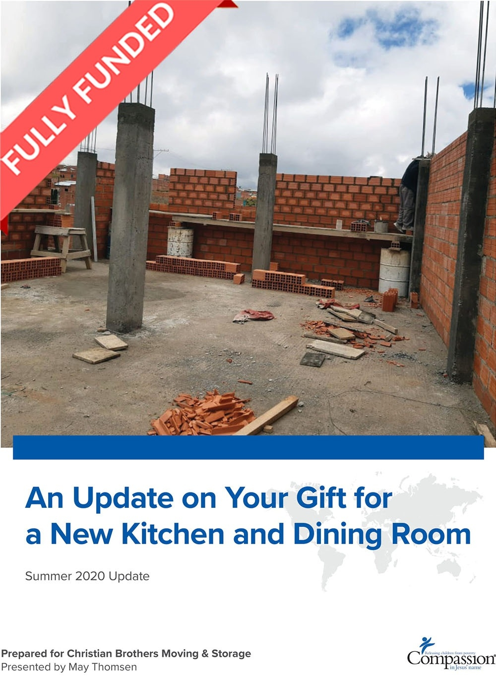 An Update on Your Gift for a New Kitchen and Dining Room